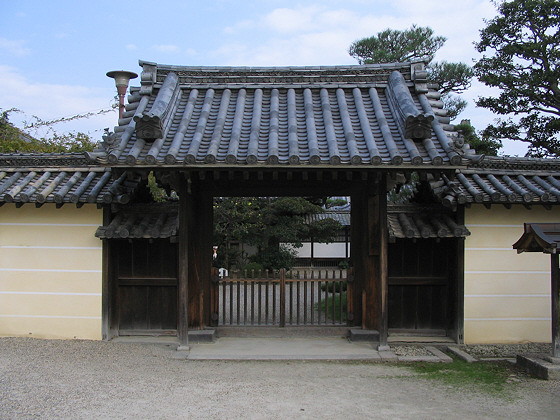 Chuguji Temple Gate