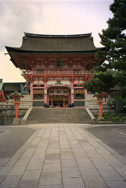 Fushimi-inari shrine gate