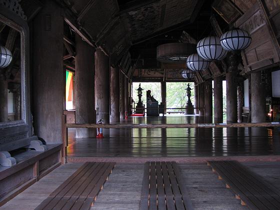 Hasedera Temple hondo