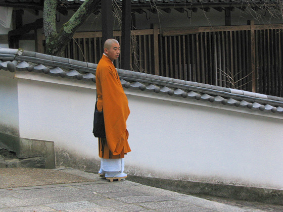Hasedera Temple priest