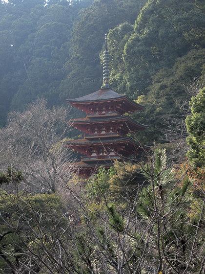 Hasedera Temple pagoda