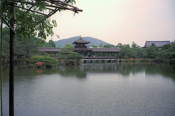Heian Jingu Shrine Chinese Bridge