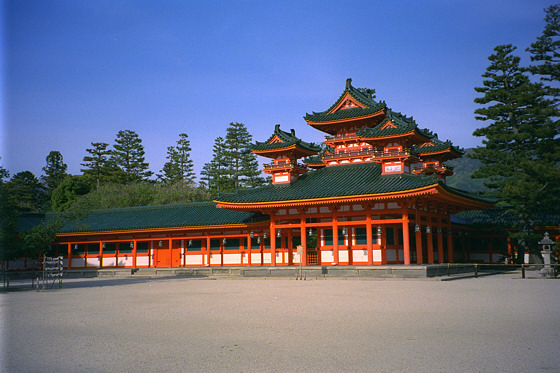 Heian Jingu Shrine East