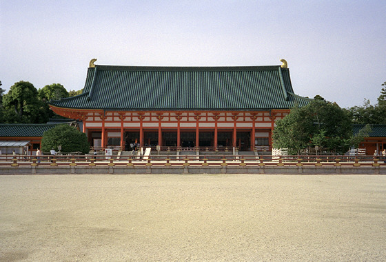 Heian Jingu Shrine North