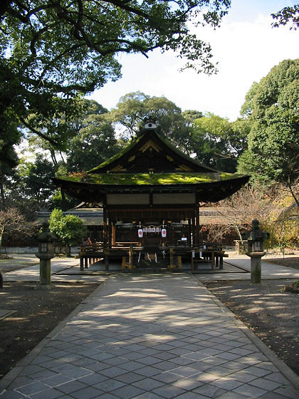 Hirano Shrine building