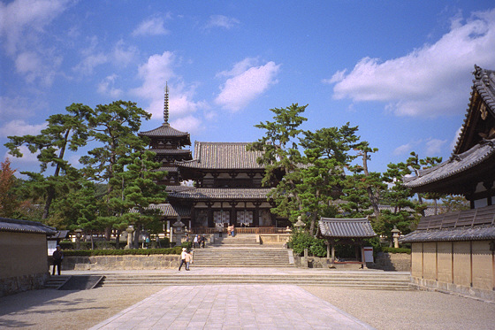 Seven Great Temples of Nara: Horyuji
