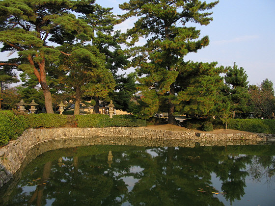 Horyuji Temple Pond