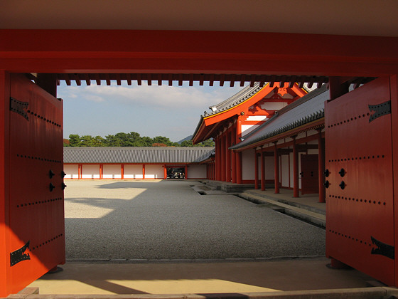 Kyoto Imperial Palace Courtyard