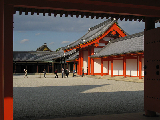 Kyoto Imperial Palace Nikkamon Gate