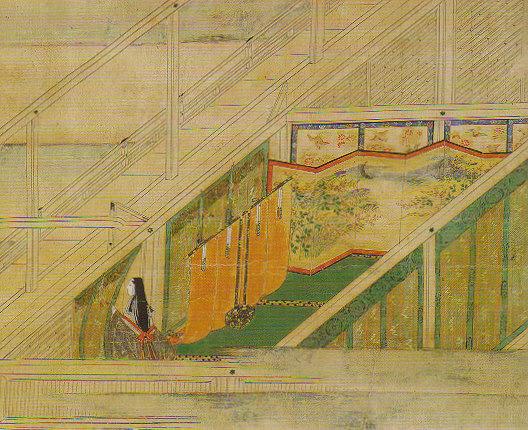 Murasaki Shikibu at Ishiyamadera Temple