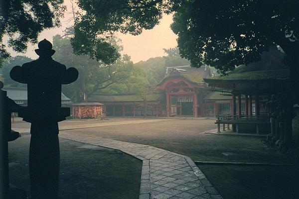 The Tale of Genji: Iwashimizu Hachiman-gu