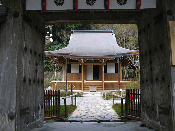 Jakko-in Temple Gate Hondo