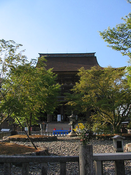 Kimpusenji Temple Hall