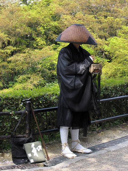Kiyomizudera Temple monk