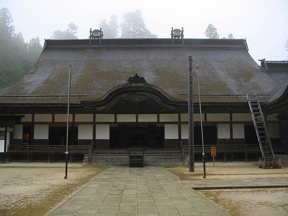 Koyasan Kongobuji Temple Hall