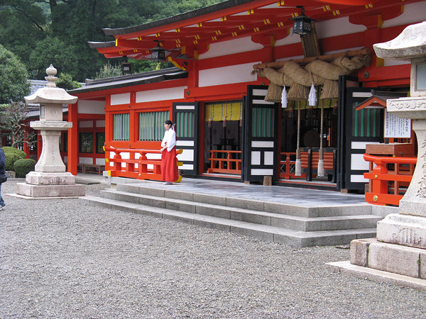 Kumano Hayatama Taisha Grand Shrine lanterns