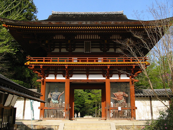 Muroji Temple Niomon