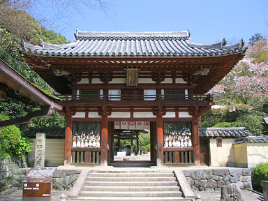 Okadera Temple Gate