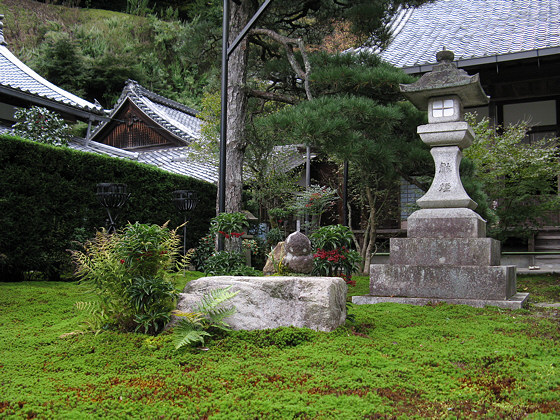 Japanese gardens: Saisho-in Temple
