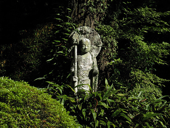 Jizo Statue Garden Sanzen-in Temple Jizo Statue