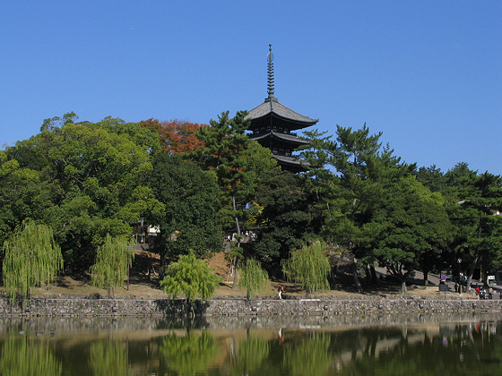 Sarusawa Pond in Nara
