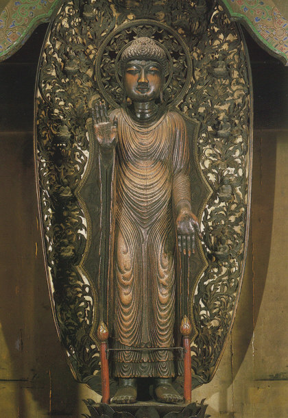 Seiryoji Temple Shaka - copy of Udayana Buddha