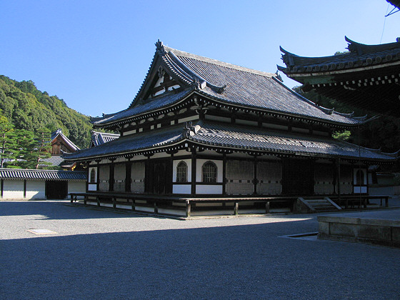 Sennyuji Temple Shariden