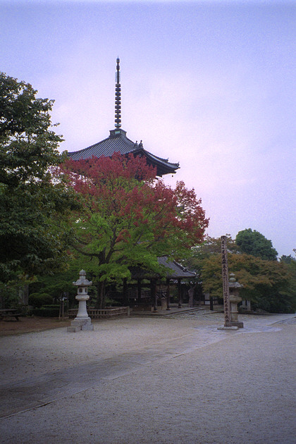 Shinnyodo Temple Pagoda