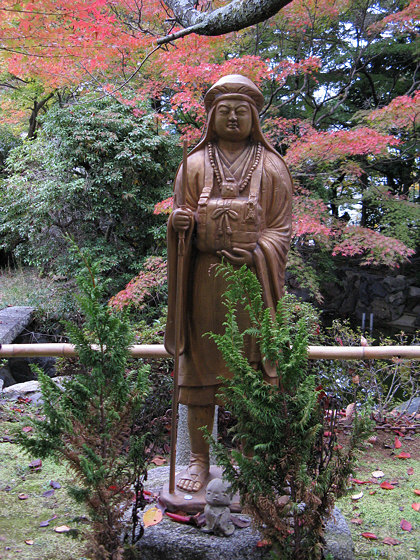 Shinnyodo Temple Statue