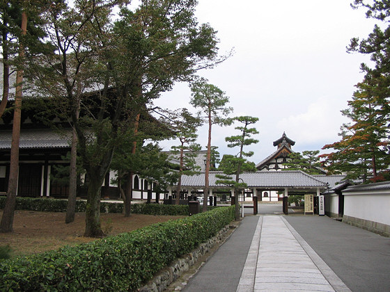 Shokokuji Temple Path