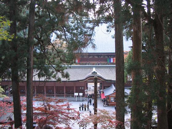 Enryakuji temple Konpon Chudo