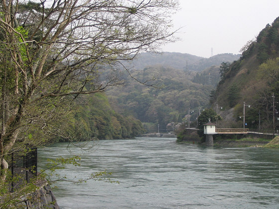 Uji River Upstream