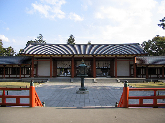 Yakushiji temple gate